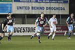 Drog's Alan McNally (4) and Stephen McCrossan (8) as Drogheda Utd V UCD in the Airtricity League. (result UCD 1 Drogheda Utd 0)...(Photo credit should read Jenny Matthews/www.newsfile.ie)....This Picture has been sent you under the conditions enclosed by:.Newsfile Ltd..The Studio,.Millmount Abbey,.Drogheda,.Co Meath..Ireland..Tel: +353(0)41-9871240.Fax: +353(0)41-9871260.GSM: +353(0)86-2500958.email: pictures@newsfile.ie.www.newsfile.ie.