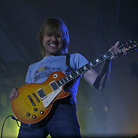Steve Hill performs at the Saint-Jean-Baptiste show on the Plains of Abraham Thursday June 23, 2005.