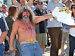 NASCAR fans enjoy the pre-race activities before the Nascar Sprint Cup Series AAA Texas 500 race at Texas Motor Speedway in Fort Worth,Texas.