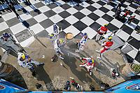 GTD Podium, #96: Turner Motorsport BMW M6 GT3, GTD: Robby Foley, Bill Auberlen, Aidan Read, #1: Paul Miller Racing Lamborghini Huracan GT3, GTD: Madison Snow, Bryan Sellers, Corey Lewis, #23: Heart Of Racing Team Aston Martin Vantage GT3, GTD: Ross Gunn, Roman De Angelis, Ian James, Champagne