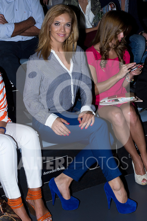 03.09.2012. Celebrities attending the  Leyre Valiente and Eva Soto Conde fashion show during the EGO Mercedes-Benz Fashion Week Madrid Spring/Summer 2013 at Ifema. In the image Beatriz Trapote (Alterphotos/Marta Gonzalez)