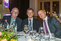 The Hague, The Netherlands, September 13, 2017,  Sportcampus , Davis Cup Netherlands - Chech Republic, Official Dinner, Umpires<br /> <br /> Photo: Tennisimages/Henk Koster