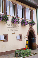 winery wine shop domaine p blanck kientzheim alsace france