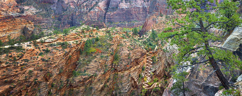 Walter's Wiggles. Zion National Park, Utah