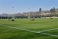 Friday 18th March 2016<br /> <br /> Official opening of the Swansea City Landore Academy which includes a 3rd floor classroom, an extension and an indoor training barn <br /> <br /> Steve Phillips for Athena Agency