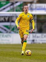 18th April 2021; Stair Park, Stranraer, Dumfries, Scotland; Scottish Cup Football, Stranraer versus Hibernian; Jackson Irvine of Hibernian