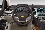 Car pictures of steering wheel view of a 2015 Chevrolet Suburban 4WD 1500 LTZ 5 Door Suv Steering Wheel
