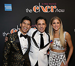 Christopher Vo, Christopher Gattelli, and Ashley Blair Fitzgerald Attends the After Party for the Broadway Opening Night  of 'The Cher Show' at Pier 60 on December 3, 2018 in New York City.