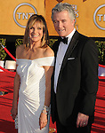Patrick Duffy and Linda Gray at the 18th Screen Actors Guild Awards held at The Shrine Auditorium in Los Angeles, California on January 29,2012                                                                               © 2012 Hollywood Press Agency