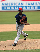 Christophers Santana - Cleveland Indians 2019 extended spring training (Bill Mitchell)