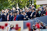 Pablo Casado attends to Spanish National Day military parade in Madrid, Spain. October 12, 2018. (ALTERPHOTOS/A. Perez Meca)