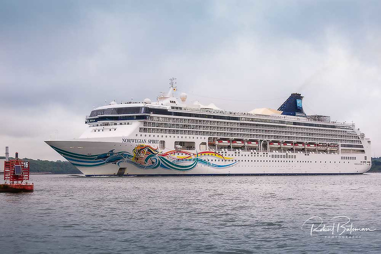 The 75,000 tonne Norwegian Spirit is a Leo-class cruise ship operated by Norwegian Cruise Line (NCL)