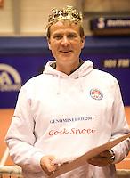 15-12-07, Netherlands, Rotterdam, Sky Radio Masters, TennisTrainer van het jaar Cock Snoei(l)