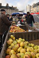 Vente de pommes
