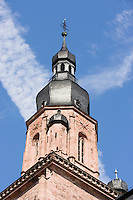 Europe/Allemagne/Bade-Würrtemberg/Heidelberg: Europe/Allemagne/Bade-Würrtemberg/Heidelberg: clocher de l'église du Saint-Esprit