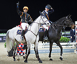 Danier Deusser, Joao Moreina during the HKJC Race of the Riders during the Longines Masters of Hong Kong on 19 February 2016 at the Asia World Expo in Hong Kong, China. Photo by Victor Fraile / Power Sport Images