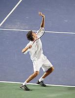 7-4-07, England, Birmingham, Tennis, Daviscup England-Netherlands,  Robin Haase in the doubles