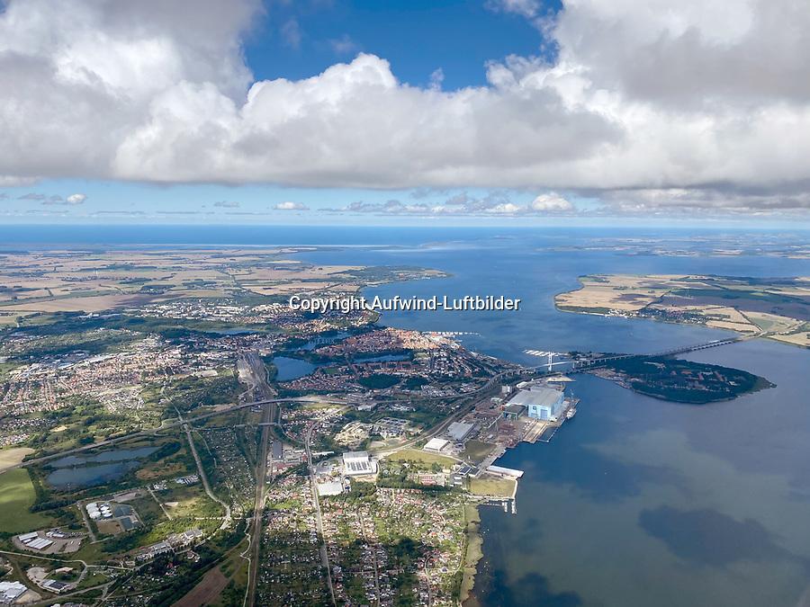 Stralsund : DEUTSCHLAND, MECKLENBURG-VORPOMMERN,STRALSUND, (GERMANY, MECKLENBURG POMERANIA), 01.09.2020: Stralsund