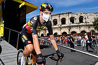 July 9th 2021. Carcassonne, Languedoc, France;  VAN AERT Wout (BEL) of JUMBO-VISMA  during stage 13 of the 108th edition of the 2021 Tour de France cycling race, a stage of 219,9 kms between Nimes and Carcassonne.