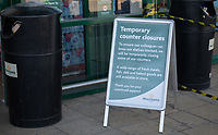 Notices outside Morrisons in Sidcup, Kent during the Coronavirus (COVID-19) outbreak where travel has been restricted across the country at Sidcup, England on 25 March 2020. Photo by Alan Stanford/PRiME Media Images