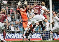 Arsenal vs Leeds United - Womens FA Cup Final at Millwall Football Club - 01/05/06 - Arsenal score their opening goal early in the game, an own-goal by Leeds defender Lucy Ward - (Gavin Ellis 2006)
