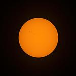 Sunspots on the sun