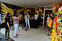 CORAL GABLES, FL - MAY 25: Singer AYASH performs live at P. Pole Pizza 3rd anniversary on May 25, 2021 in Coral Gables, Florida.  ( Photo by Johnny Louis / jlnphotography.com )