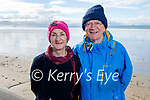 Enjoying a stroll in Ballyheigue beach on Saturday, l to r: Josephine Fitzgibbon and Mike Joyce.