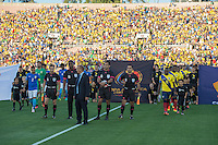 Actio photo during the match Brasil vs Ecuador, at Rose Bowl Stadium Copa America Centenario 2016. ---Foto  de accion durante el partido Brasil vs Ecuador, En el Estadio Rose Bowl, Partido Correspondiante al Grupo -B-  de la Copa America Centenario USA 2016, en la foto: Julio Bascunan<br /> --- 04/06/2016/MEXSPORT/ David Leah.