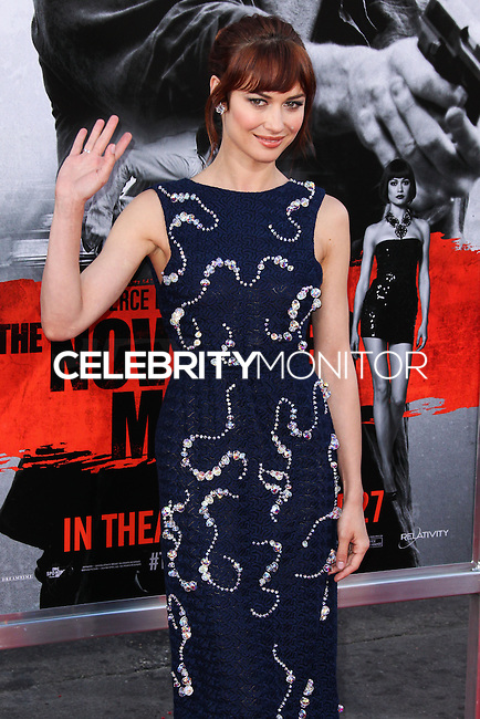 HOLLYWOOD, LOS ANGELES, CA, USA - AUGUST 13: Olga Kurylenko at the World Premiere Of Relativity Media's 'The November Man' held at the TCL Chinese Theatre on August 13, 2014 in Hollywood, Los Angeles, California, United States. (Photo by Xavier Collin/Celebrity Monitor)