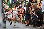 Participants runs during a high-heel race as part of Gay Pride month in the neighbourhood of Chueca on July 4, 2019.on July 04, 2019 in Madrid, Spain.(ALTERPHOTOS/ItahisaHernadez)
