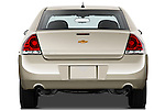 Straight rear view of a 2012 Chevrolet Impala LS