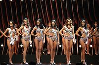 SAO PAULO, SP. 16.05.2015 - MISS-SÃO PAULO -  Candidatas durante a 61º edição do concurso Miss São Paulo, na noite deste sábado (16), no Anhembi, na zona norte da capital paulista.  (Foto: Adriana Spaca/Brazil Photo Press)