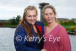 Deidre Danagher and Ann Courtney enjoying a walk in the Tralee Wetlands on Saturday evening.