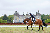 GBR-Georgie Campbell rides Global Quest during the Dressage for the CCI-L 3* Section C. 2021 GBR-Saracen Horse Feeds Houghton International Horse Trials. Hougton Hall. Norfolk. England. Thursday 27 May 2021. Copyright Photo: Libby Law Photography