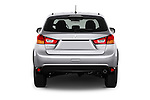 Straight rear view of 2016 Mitsubishi Outlander-Sport 2.4-ES-AWC-CVT 5 Door SUV Rear View  stock images