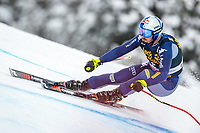 29th December 2020; Stelvio, Bormio, Italy; FIS World Cup Super G for Men;  Dominik Paris of Italy in action during his run for the men Super G race