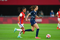 21st July 2021; Sapporo, Japan; Caroline Weir 9 GBR controls the ball  during the womens Olympic Football Tournament Tokyo 2020 match between Great Britain and Chile at Sapporo Dome in Sapporo, Japan. Great Britain won the game by a score of 2-0