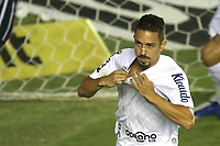 Santos (SP), 21.02.2020 - Santos-Fluminense - O jogador Jean Mota comemora gol. Partida entre Santos e Fluminense valida pela 37. rodada do Campeonato Brasileiro neste domingo (21) no estadio da Vila Belmiro em Santos.