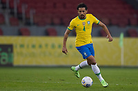 4th June 2021; Beira-Rio Stadium, Porto Alegre, Brazil; Qatar 2022 qualifiers; Brazil versus Ecuador; Marquinhos of Brazil