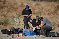 Pictured: in Kos, Greece. Tuesday 11 October 2016<br />Re: Police teams led by South Yorkshire Police are searching for missing toddler Ben Needham on the Greek island of Kos.<br />Ben, from Sheffield, was 21 months old when he disappeared on 24 July 1991 during a family holiday.<br />Digging has begun at a new site after a fresh line of inquiry suggested he could have been crushed by a digger.