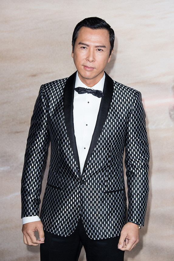 Donnie Yen attends the launch event for Rogue One: A Star Wars Story - Launch Event at the Tate Modern