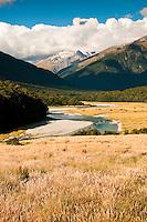 Makaroa River - Central Otago, Mt. Aspiring N.P.,New Zealand