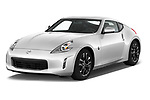 2020 Nissan 370Z-Coupe 7A/T 0 Door Coupe Angular Front stock photos of front three quarter view