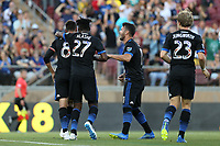 Stanford, CA - Saturday June 30, 2018: Chris Wondolowski prior to a Major League Soccer (MLS) match between the San Jose Earthquakes and the LA Galaxy at Stanford Stadium.