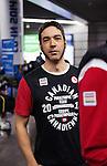 Brian McKeever, Sochi 2014.<br /> Team Canada arrives at the airport in Sochi for the Sochi 2014 Paralympic Winter // Équipe Canada arrive à l'aéroport de Sotchi pour Sochi 2014 Jeux paralympiques d'hiver. 04/03/2014.
