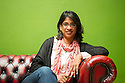 Indhu Rubasingham, artistic director of the Tricycle Theatre.  Photograph © Jane Hobson.