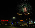 Palace Station 45th Anniversary Fireworks