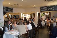 """Europe/France/Aquitaine/33/Gironde/Bassin d' Arcachon/ Arcachon: """"le Café de la Plage"""" la brasserie  de William Techoueyres et Bernard Laporte"""