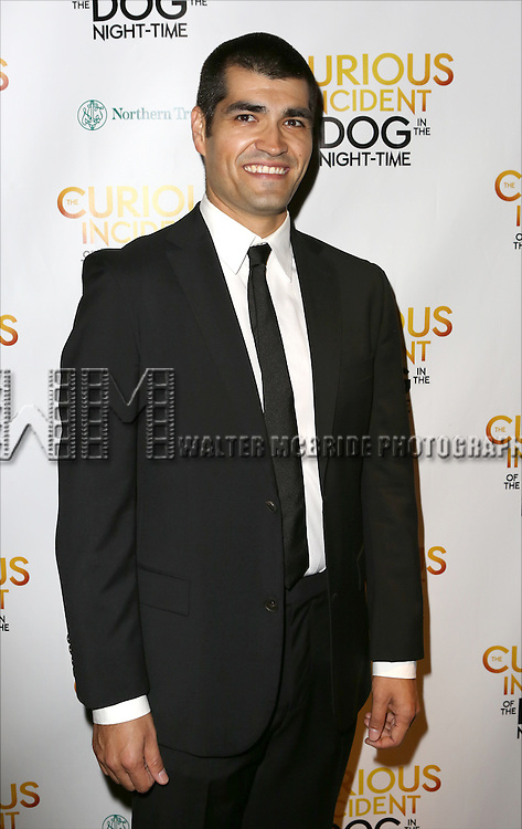 Ben Horner attends the Broadway Opening Night Performance After Party for 'The Curious Incident of the Dog in the Night-Time'  at Urbo on October 5, 2014 in New York City.